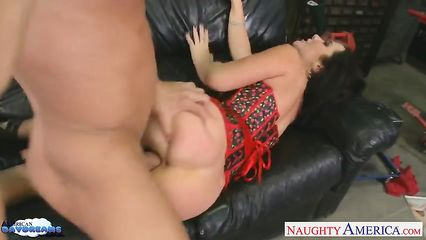 Порно с очень худой